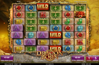 Dragon Born Mobile Slot Free Spins Wilds