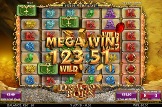 Dragon Born Mobile Slot Free Spins Win
