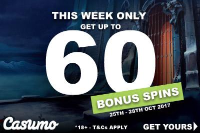 Get Your Casumo Bonus Slots Spins This Week