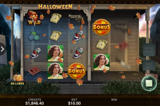 Halloween Mobile Slot Game