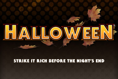 Halloween Mobile Slot Logo