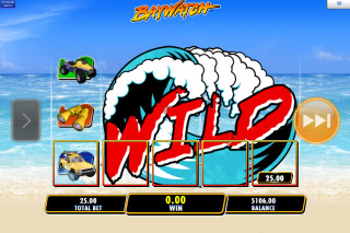 Baywatch Mobile Slot Wilds Bonus