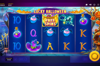 Lucky Halloween Mobile Slot Machine