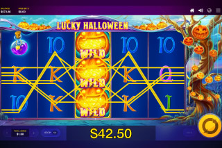 Lucky Halloween Mobile Slot Big Win
