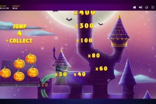 Lucky Halloween Mobile Slot Bonus Game