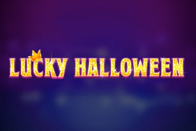 Lucky Halloween Mobile Slot Logo