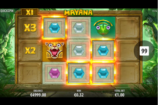 Mayana Mobile Slot Win