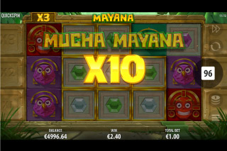 Mayana Mobile Slot Multipliers