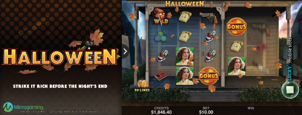 Microgaming Halloween Slot Machine