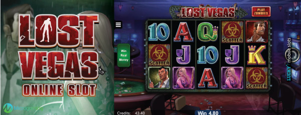 Microgaming Lost Vegas Slot Machine