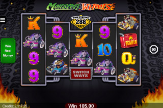 Monster Wheels Mobile Slot Machine