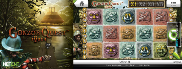 Gonzo's Quest Touch Slot Machine
