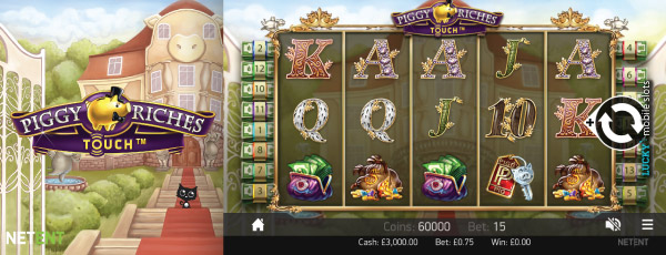 Piggy Riches Touch Slot Machine Is The Reason