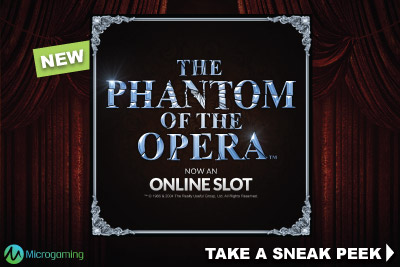 New Microgaming The Phantom Of The Opera Slot Machine