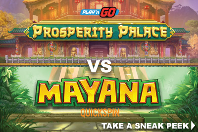 New Mobile Slots Machines In October - Prosperity Palace Vs Mayana