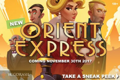 New Yggdrasil Orient Express Slot Machine Online & Mobile