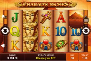 Pharaos Riches Mobile Slot Machine