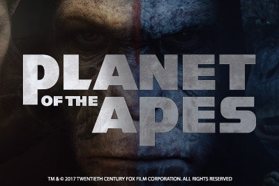 Planet Of The Apes Mobile Slot Logo
