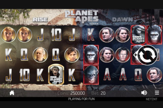 Planet Of The Apes Mobile Slot Machine