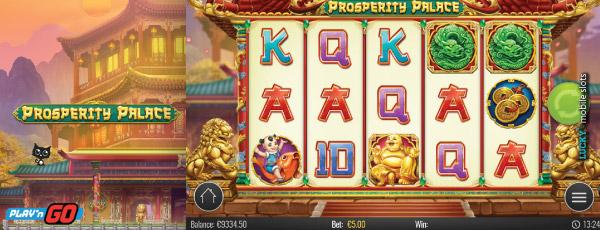 Prosperity Palace Play N Go - Mobil6000