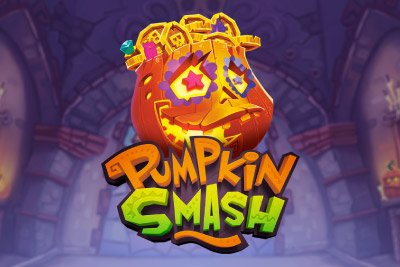 Pumpkin Smash Mobile Slot Logo