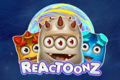 Reactoonz Mobile Slot Logo