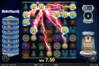 Reactoonz Mobile Slot Win