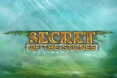 Secret Of The Stones Mobile Slot Logo