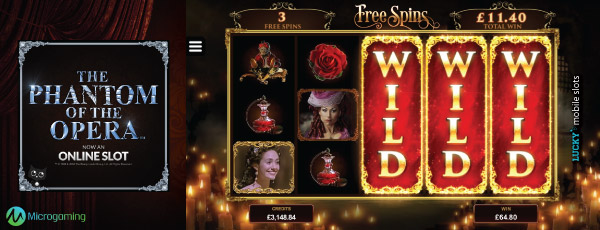 The Phantom Of The Opera Online Slot Wild Reels Free Spins