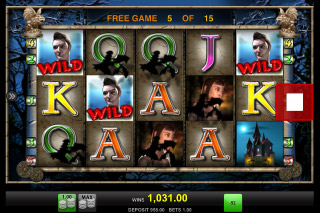 Vampires Mobile Slot Free Spins