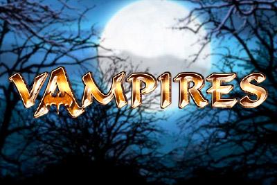 Vampires Mobile Slot Logo