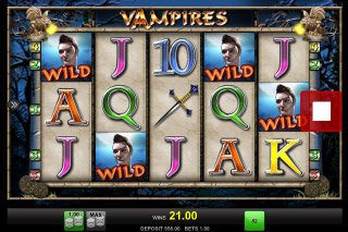 Vampires Mobile Slot Machine