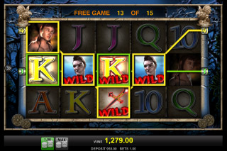 Vampires Mobile Slot Wild Free Spins Win