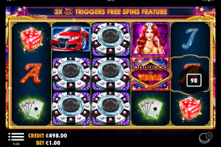 Vegas Nights Mobile Slot Machine
