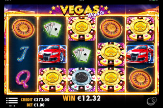 Vegas Nights Mobile Slot Respin