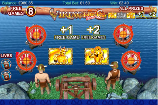 Viking Fire Mobile Slot Bonus Games