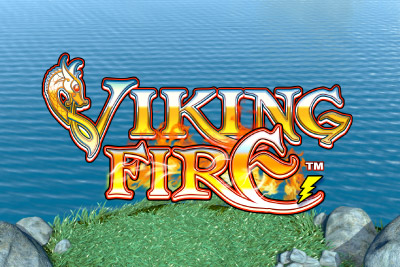 Viking Fire Mobile Slot Logo