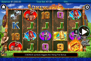 Viking Fire Mobile Slot Machine