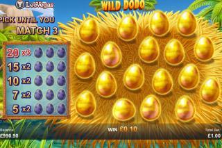 Wild Dodo Mobile Slot Bonus Game