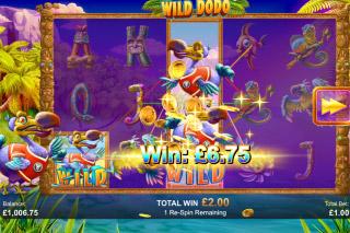 Wild Dodo Mobile Slot Wild Respins