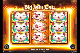 Big Win Cat Mobile Slot Stacked Symbols