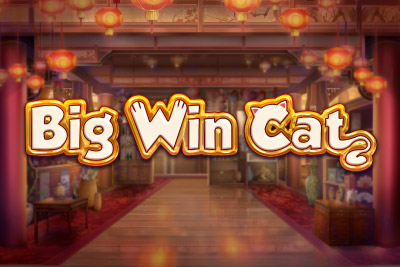 Big Win Cat Mobile Slot Logo