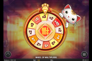 Big Win Cat Mobile Slot Multiplier Reel