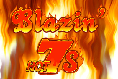Blazin Hot 7s Mobile Slot Logo
