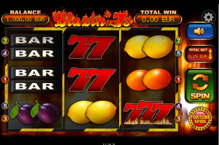 Blazin Hot 7s Mobile Slot Machine