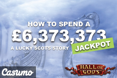 Lucky Scot Wins 6.3 Million On Hall Of Gods At Casumo