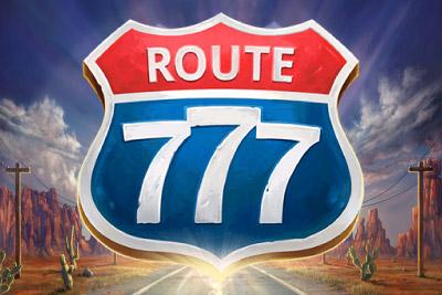 Route 777 Mobile Slot Logo