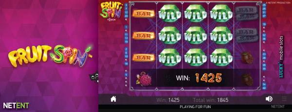 Fruit Spin Slot With Wilds