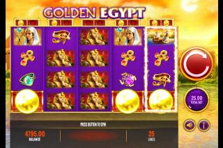 Golden Egypt Mobile Slot Coins