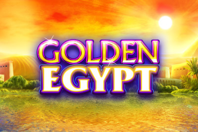 Golden Egypt Mobile Slot Logo